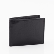 Full Grain Genuine Cowhide Oran Leather RFID Protected Men's Wallet New