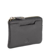 RFID Unisex Genuine Soft Leather Compact Slim Key Wallet Card Holder