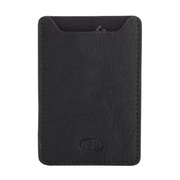 Genuine Leather Men's RFID Slim Credit Card Holder Sleeve Wallet
